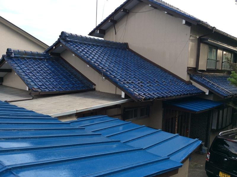 チラシからお問い合わせいただいた大垣市 墨俣 O様邸。外壁塗装と雨漏り補修をされました。