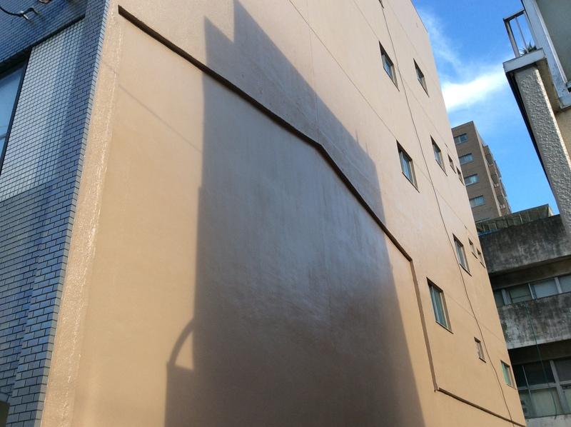 外壁に残った解体跡がむき出しになっていた大垣市 O様邸の補修工事をしました。