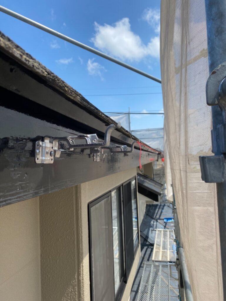 岐阜市 K邸 外壁塗装と雨樋の交換工事をしました。