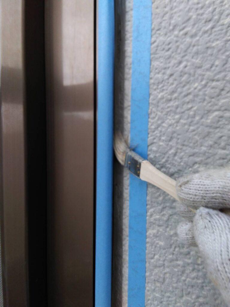 岐阜市 F様邸 外壁を高機能塗料ガイナで塗装しました。