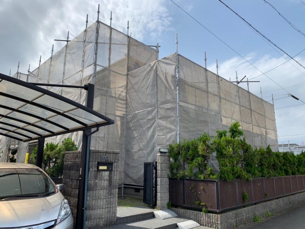 大垣市 Y様邸 超低汚染リファイン無機フッソを使った外壁塗装をおこないました。