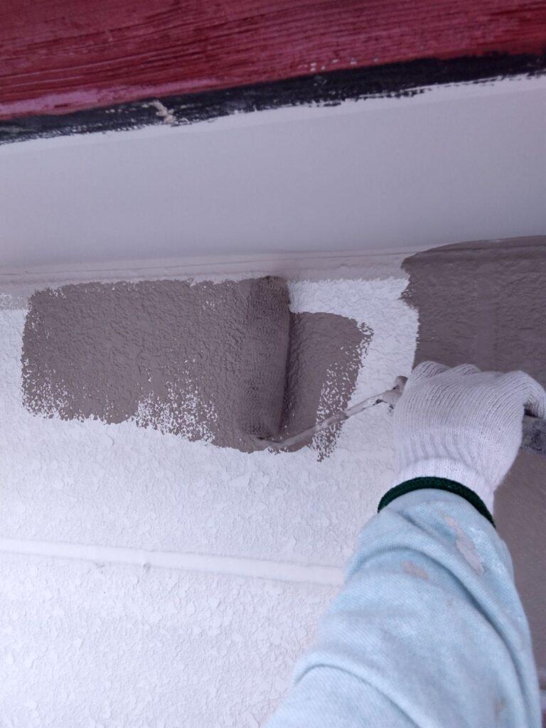 揖斐郡 U様邸 白色の外壁をツートンへ塗り替えました。