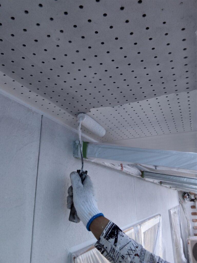 安八郡 B様邸 レンガ調の可愛いお家の塗替え工事をしました。