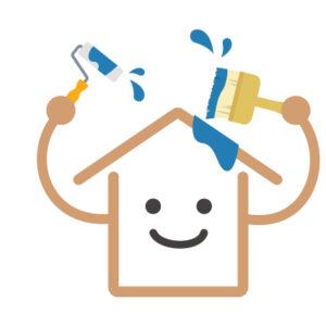 外壁塗装で使える「屋根塗装工事」のフリー素材